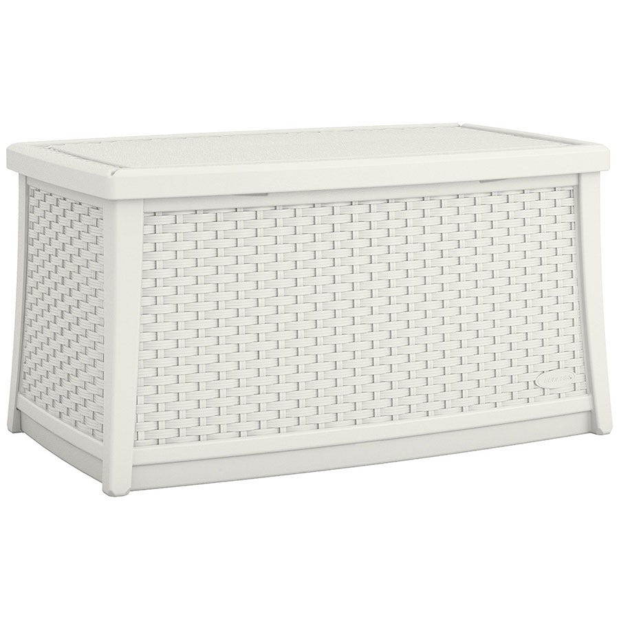 Image of Suncast 114L Coffee Table with Storage – White