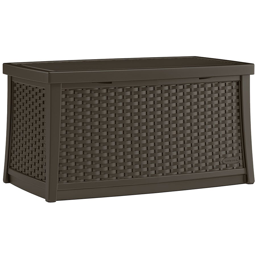 Image of Suncast 114L Coffee Table with Storage – Java