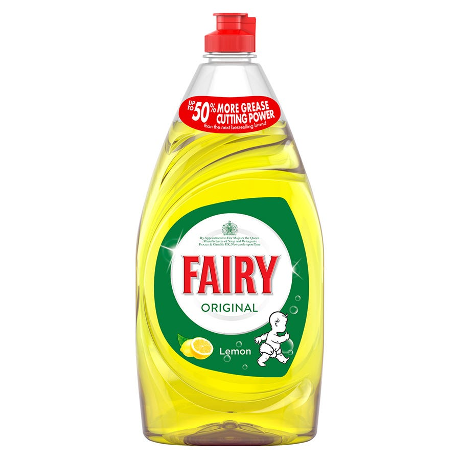 Compare prices for Fairy Lemon Washing Up Liquid - 780ml