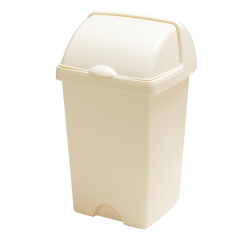 Compare cheap offers & prices of Addis 25L Roll-Top Bin - Linen manufactured by Addis