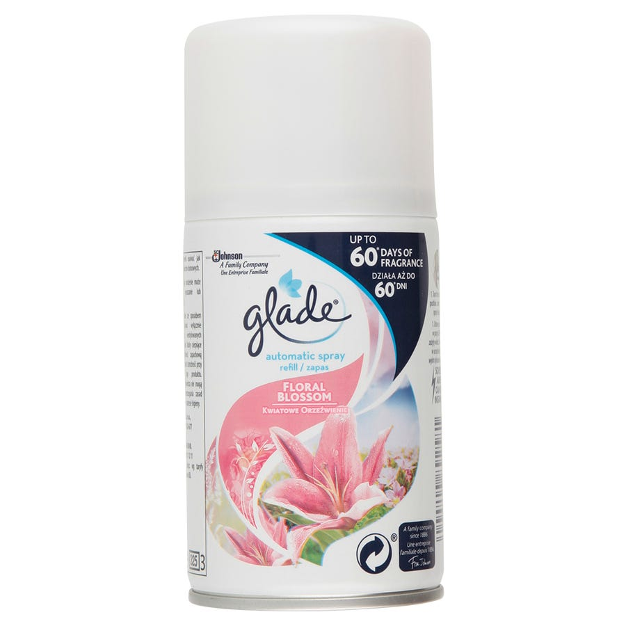 Image of Glade Automatic Spray Pink Bouquet Air Freshener Refill