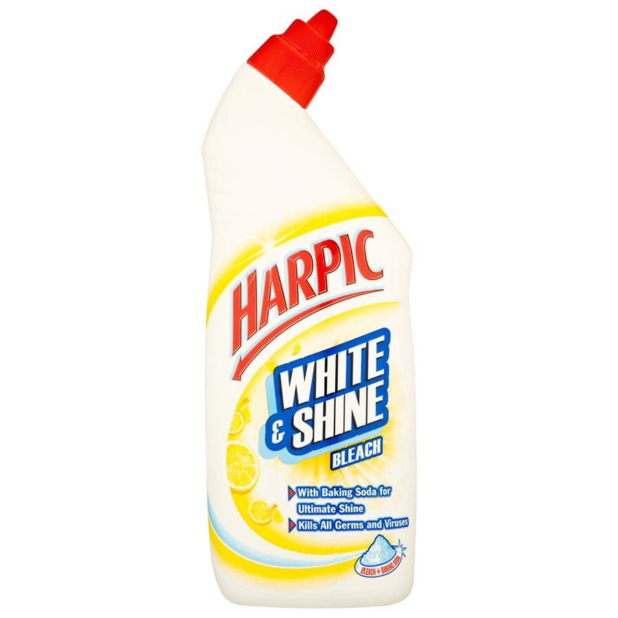 Image of Harpic White & Shine Citrus Bleach – 750ml