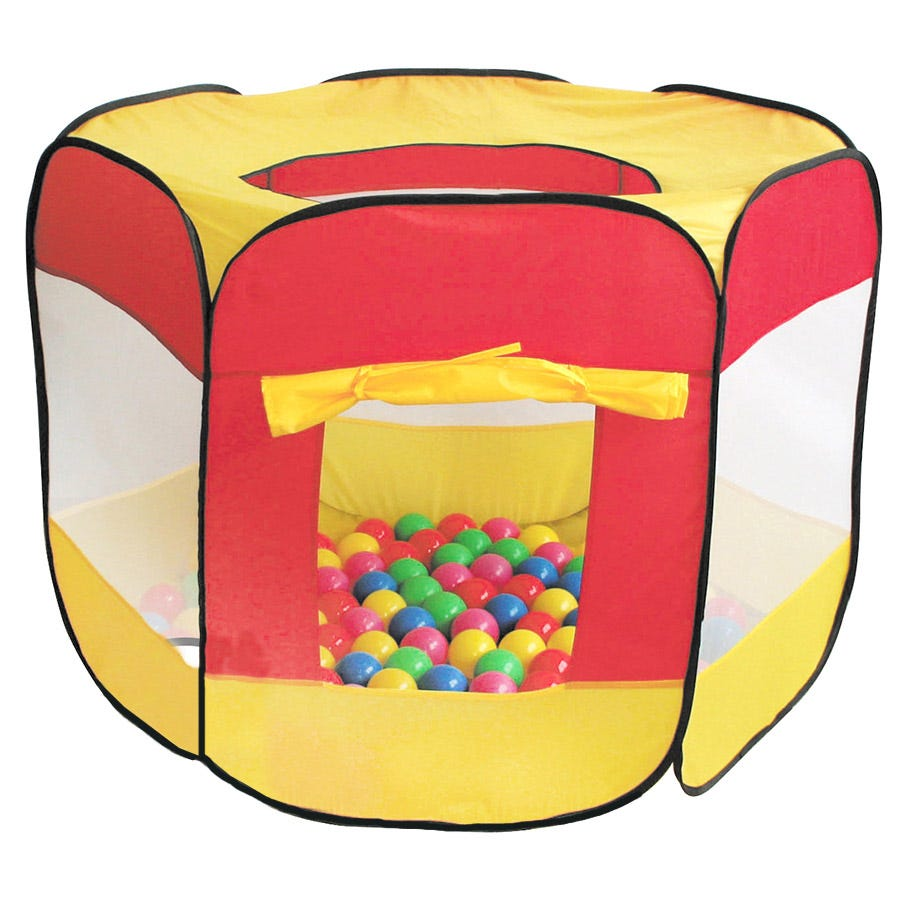 Charles Bentley Children's Multi-coloured Play Tent With 200 Balls
