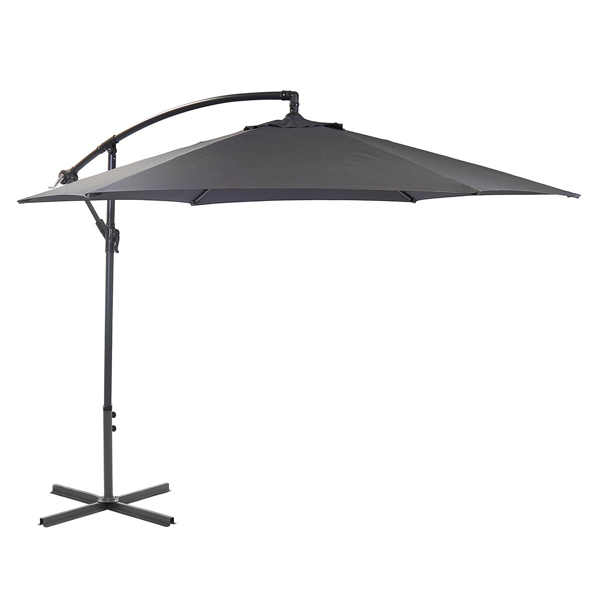 Charles Bentley 3m Parasol (base not included) - Grey