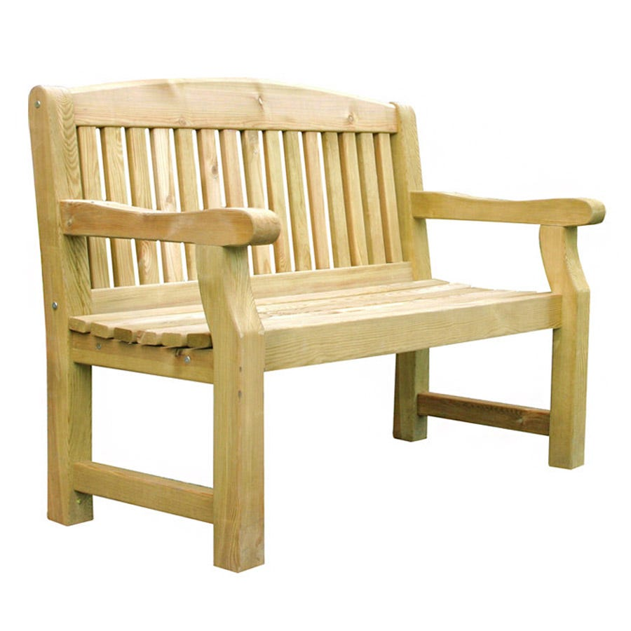 Zest4Leisure 4ft Wooden Emily Bench