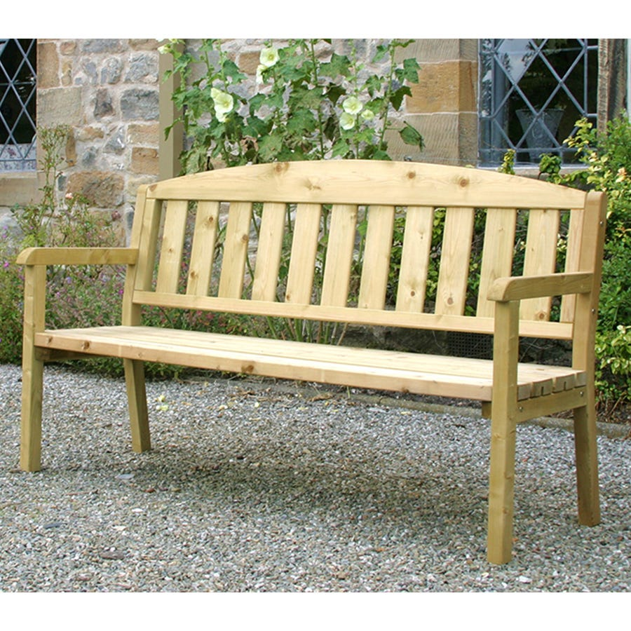 Compare prices for Zest4Leisure 5ft Wooden Caroline Bench