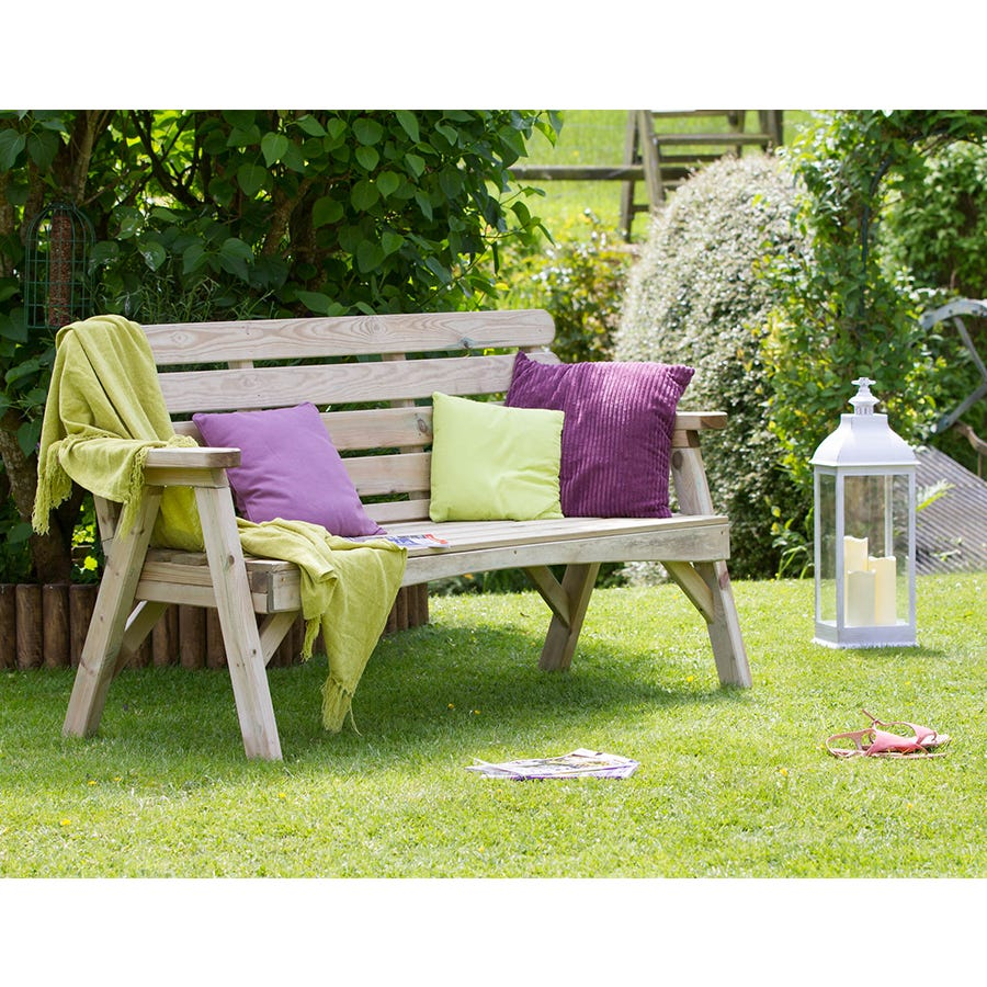 Image of Zest4Leisure Abbey 3 Seater Bench
