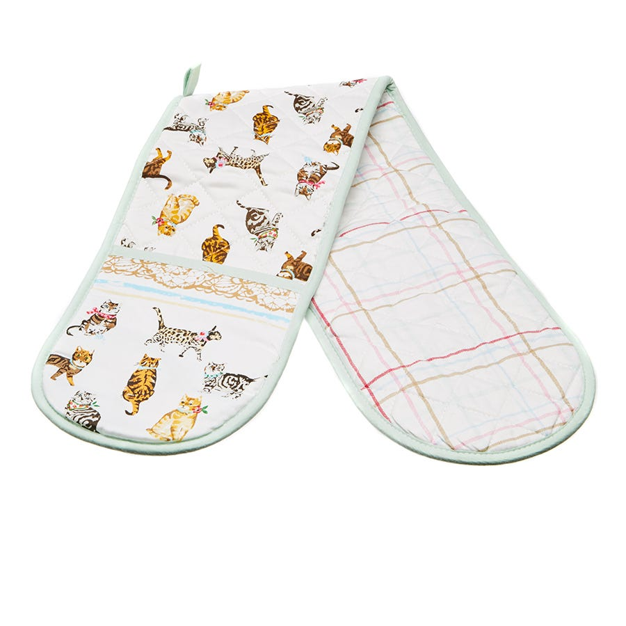 Image of Cooksmart Cats on Parade Double Oven Glove