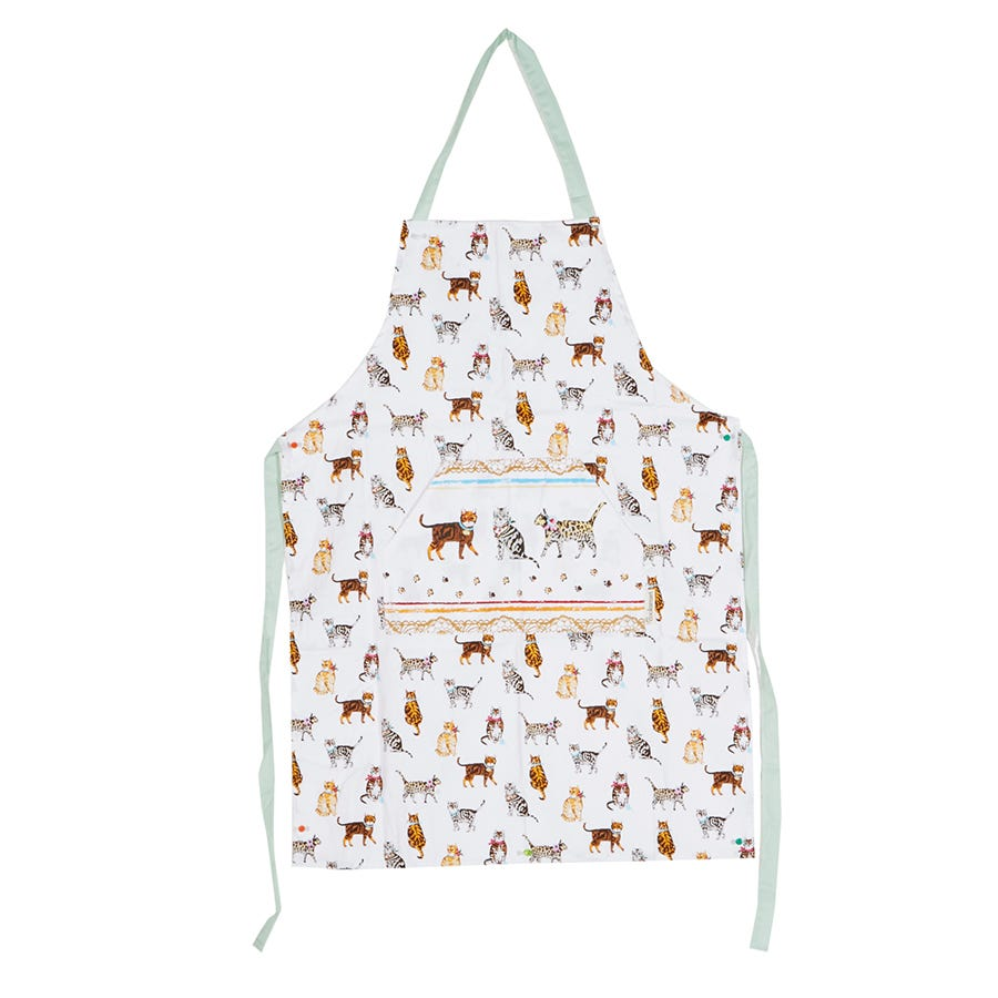 Image of Cooksmart Cats on Parade Apron