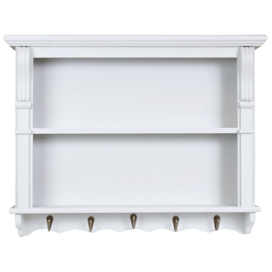 Compare cheap offers & prices of Charles Bentley Shabby Chic Vintage French Style Shelving Unit manufactured by Charles Bentley