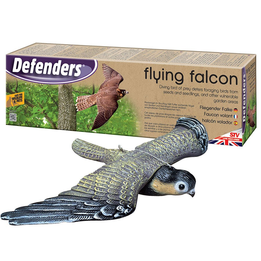 Compare prices for Defenders Flying Falcon Decoy Bird Deterrent