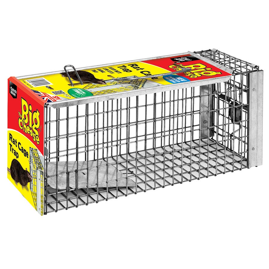 Image of The Big Cheese Rat Cage Trap