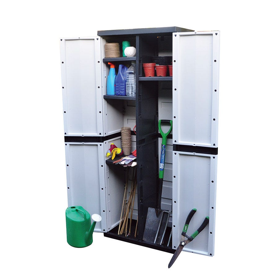 Compare prices for Kingfisher 396L Garden Storage Cabinet