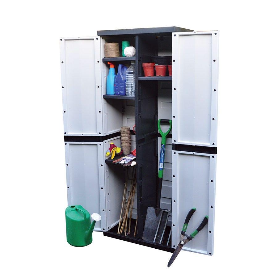 Kingfisher 396L Garden Storage Cabinet