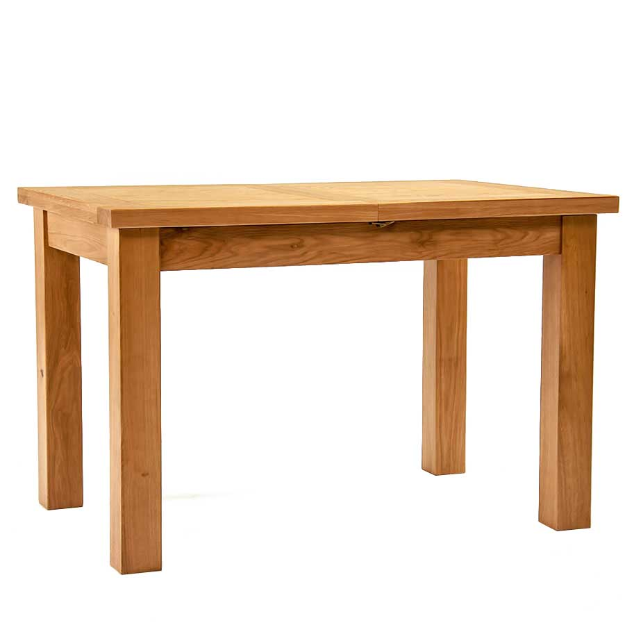 Ametis Devon Oak Extending Dining Table - 120cm to 153cm