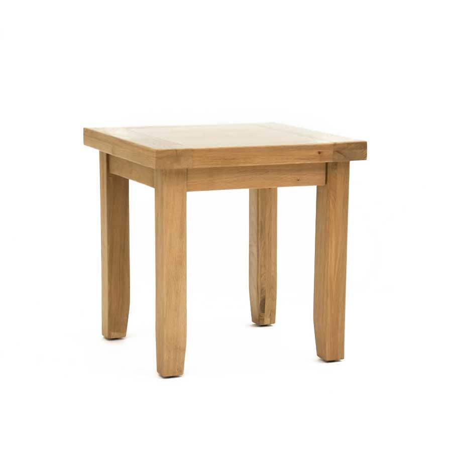 Ametis Devon Oak Lamp Table