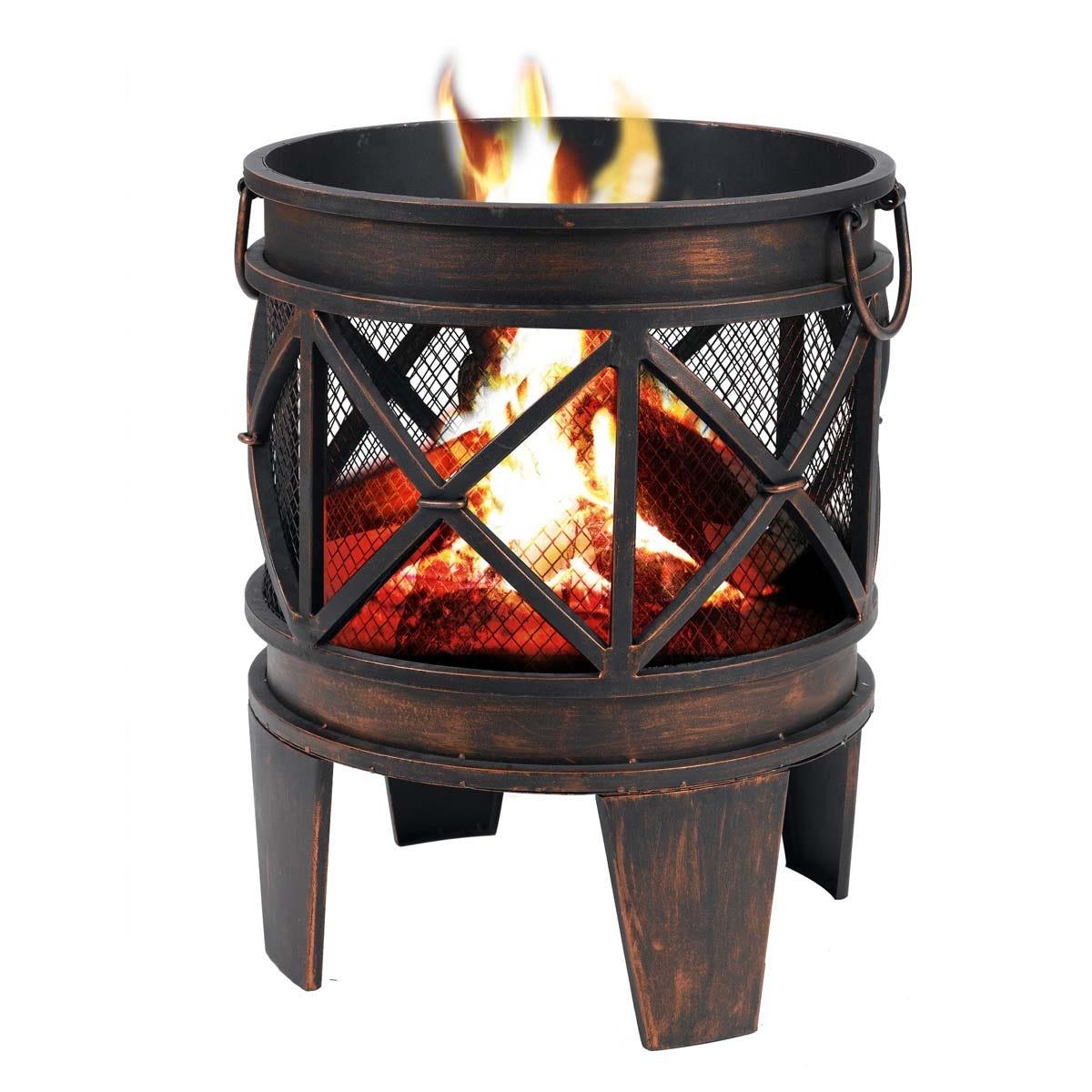 Tepro Gracewood Fire Pit Outdoor Patio Heater