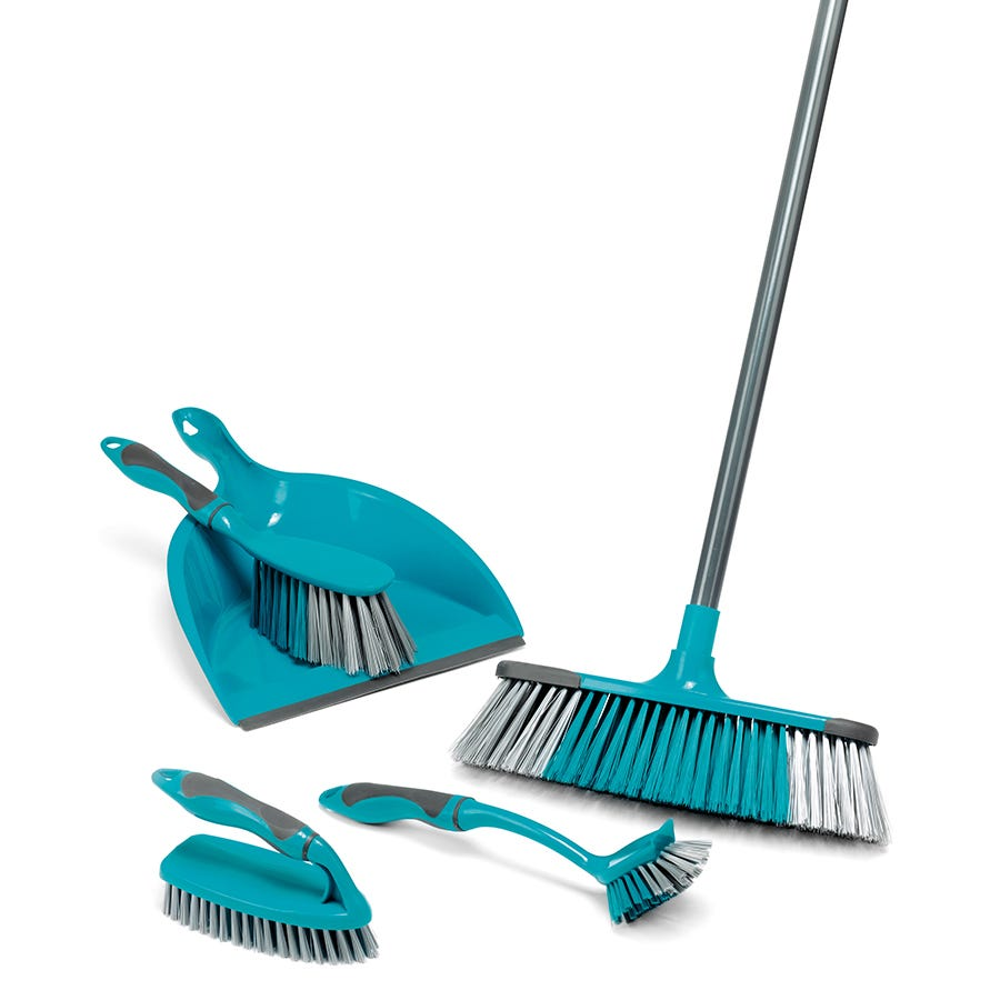 Image of Beldray 5-Piece Deluxe Cleaning Set – Turquoise