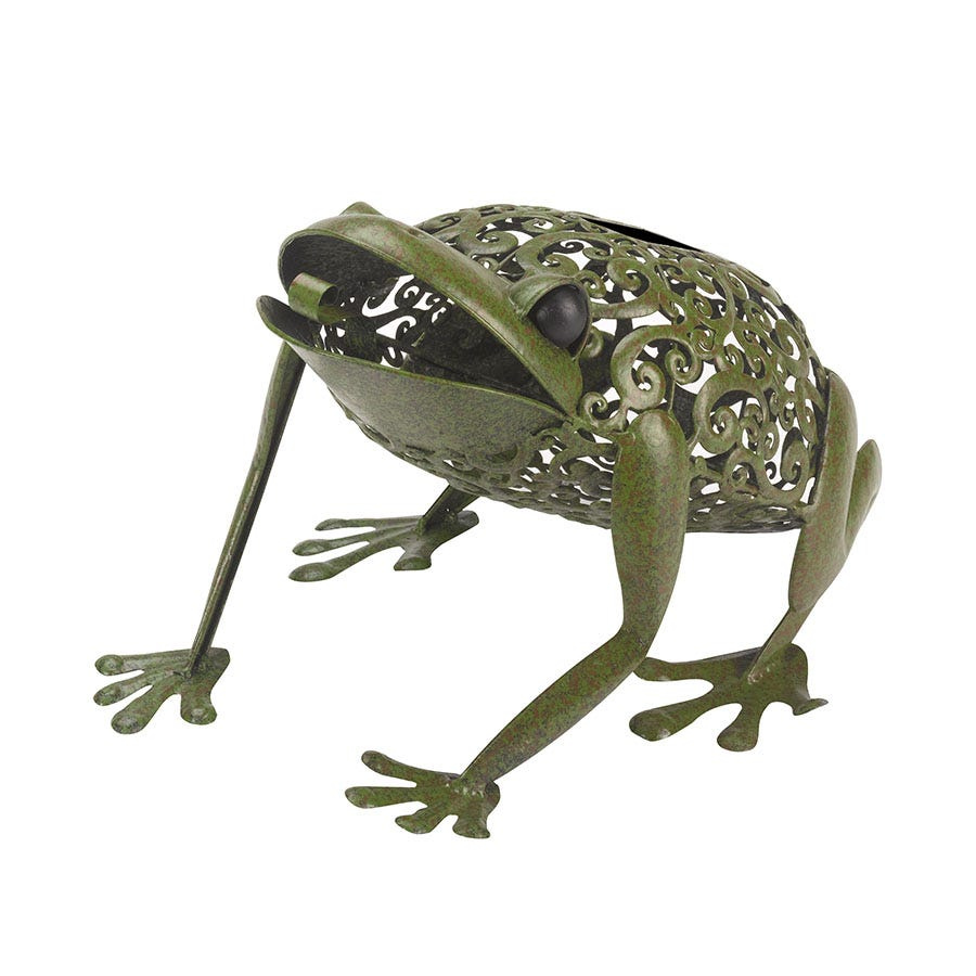 Compare prices for Smart Solar Metal Silhouette Frog Light