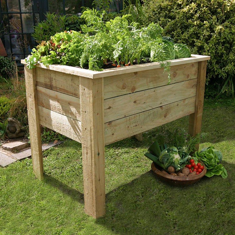 Compare prices for Zest4Leisure Deep Root Planter 1m