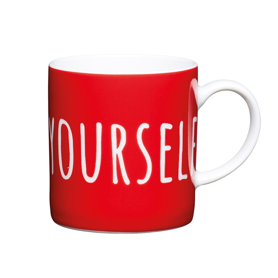 Image of Kitchen Craft 'Espresso Yourself' Cup