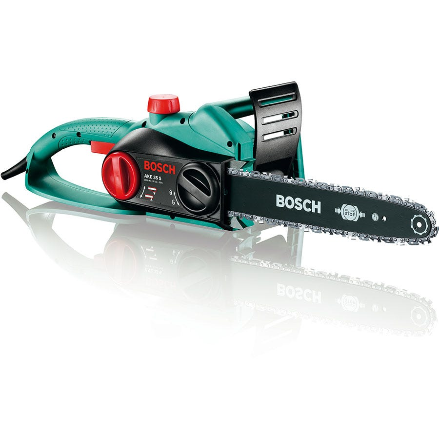 Compare cheap offers & prices of Bosch AKE 35 S 1800W Chainsaw manufactured by Bosch