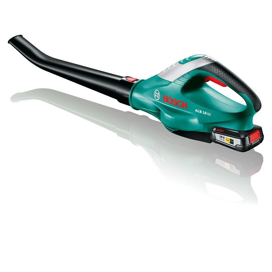 Compare cheap offers & prices of Bosch ALB 18 Li 18V 2.5Ah Li-Ion Cordless Garden Blower manufactured by Bosch