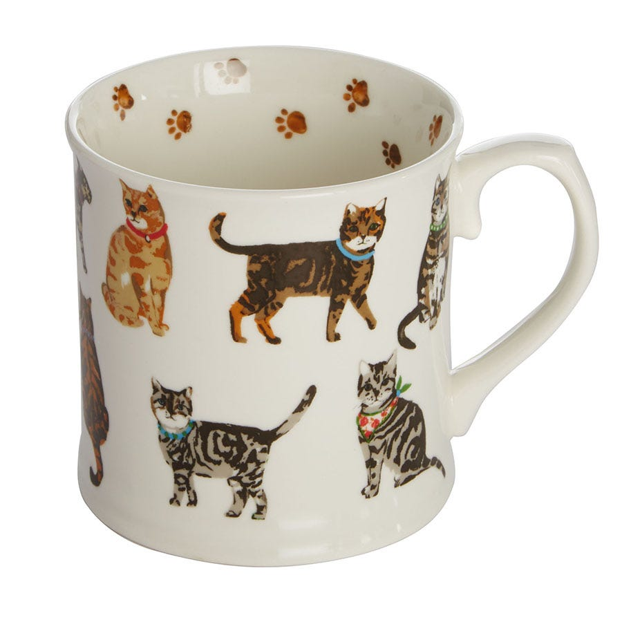 Compare prices for Cooksmart Cats on Parade China Mug