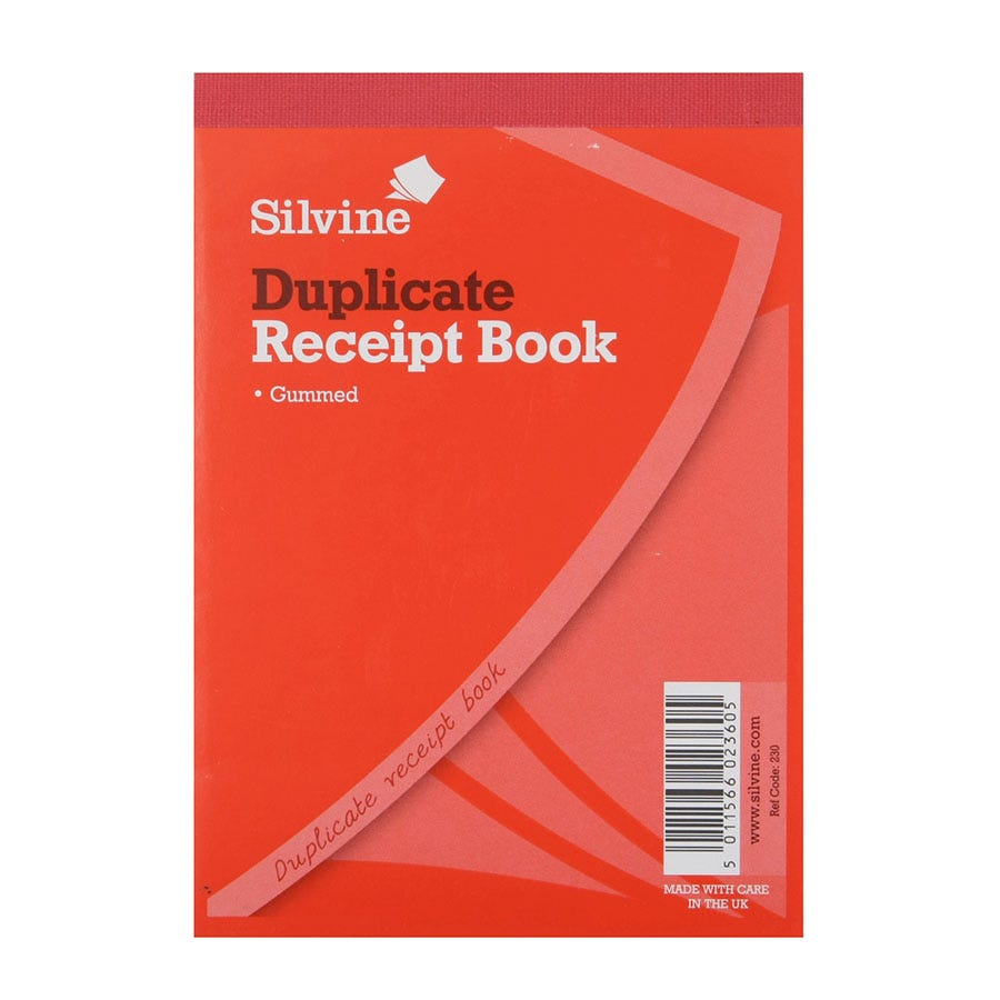 Compare cheap offers & prices of Robert Dyas Silverline Duplicate Carbon Cash Receipt Book manufactured by Robert Dyas