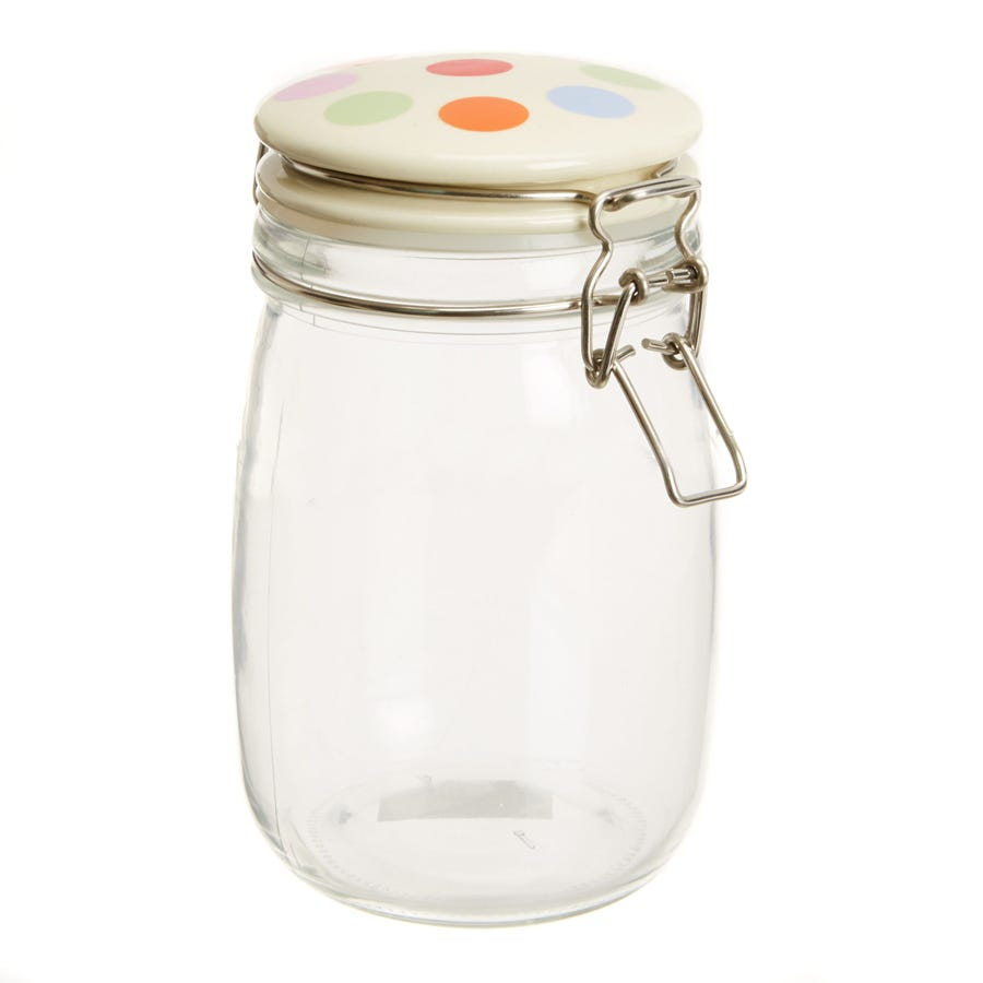 Image of Cooksmart Spots 1.0L Storage Jar