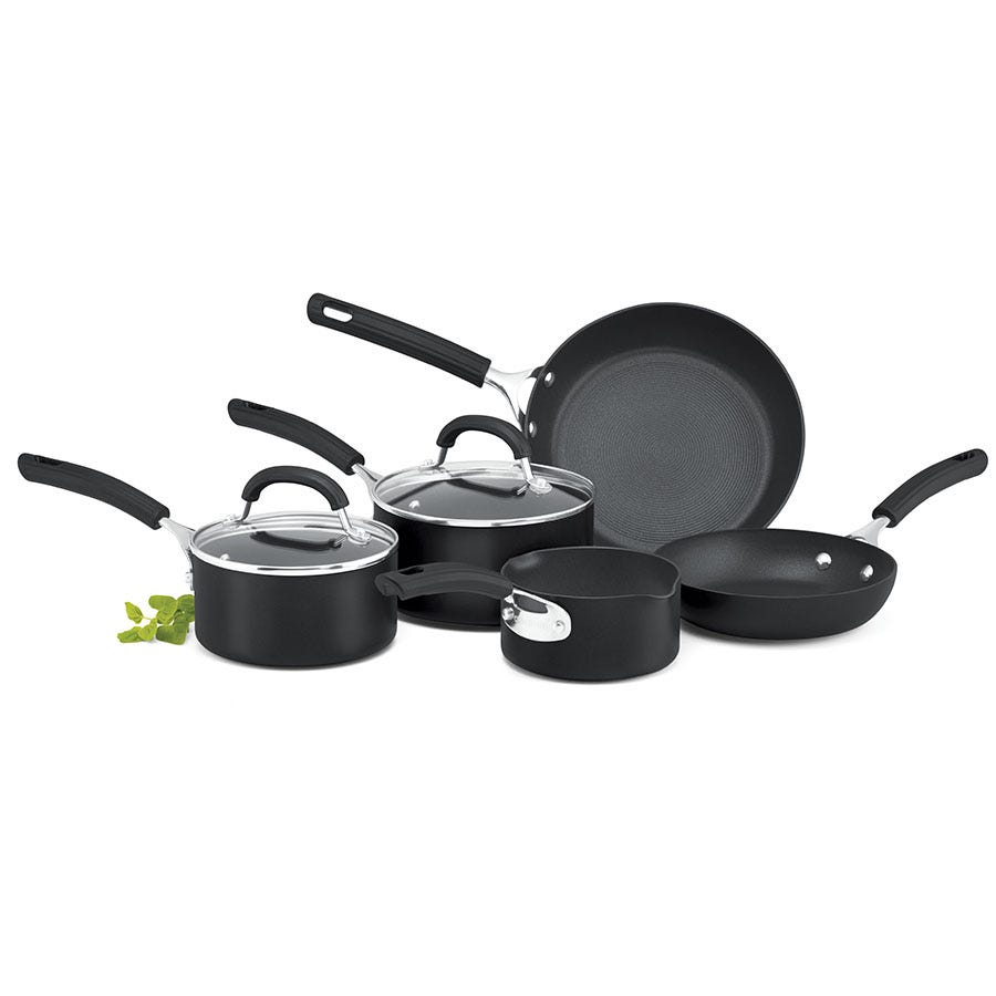 Compare cheap offers & prices of Circulon Origins 5-Piece Pan Set manufactured by Circulon