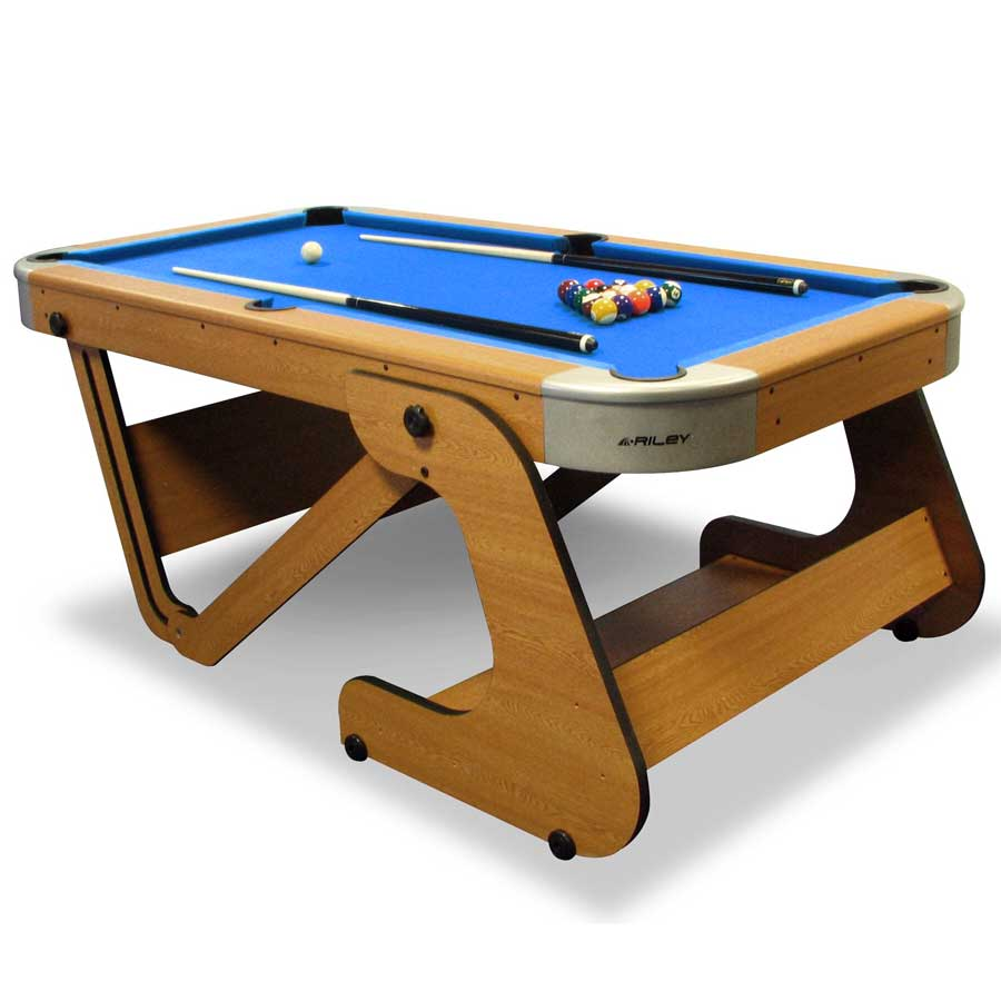 Riley Supersize 6.5ft Folding Pool Table