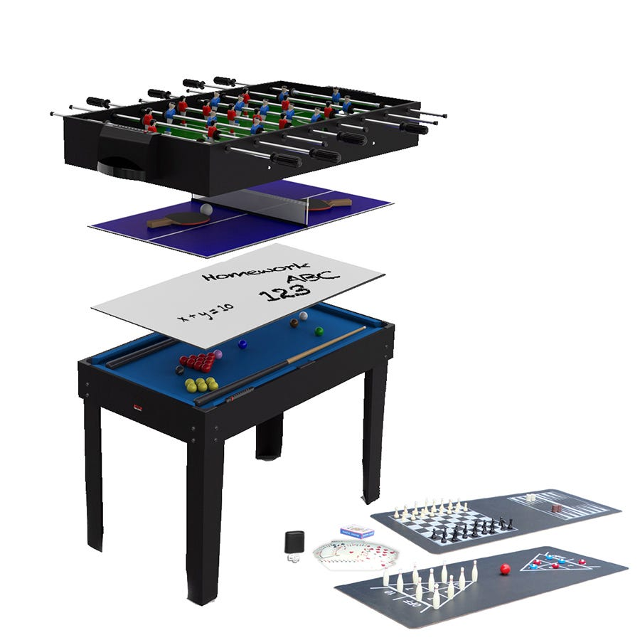 Compare cheap offers & prices of BCE 12 In 1 4 Multi Game Table manufactured by BCE