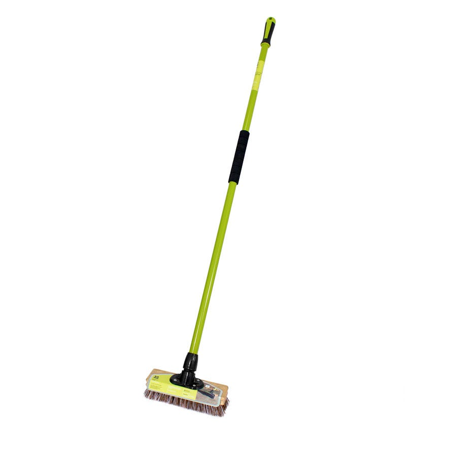 """Image of National Trust 9"""" Union Deck Broom with Handle"""