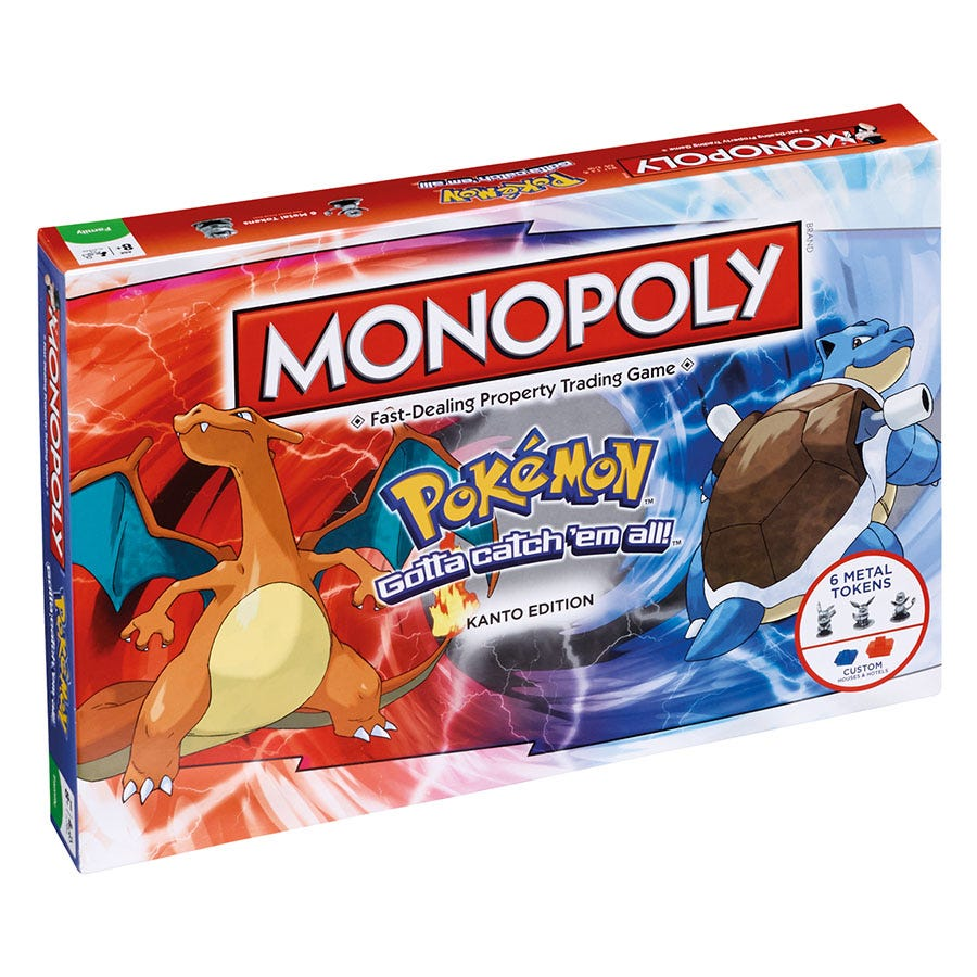 Compare retail prices of Pokemon Monopoly to get the best deal online
