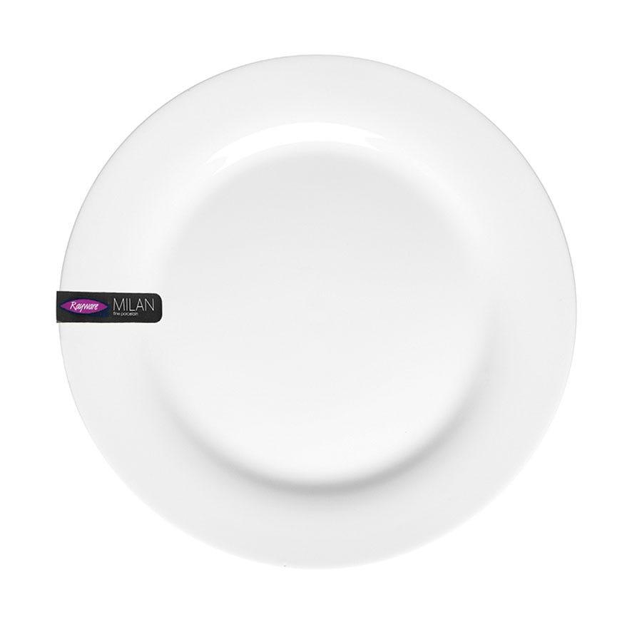 Image of Milan 26.5cm Dinner Plate - White