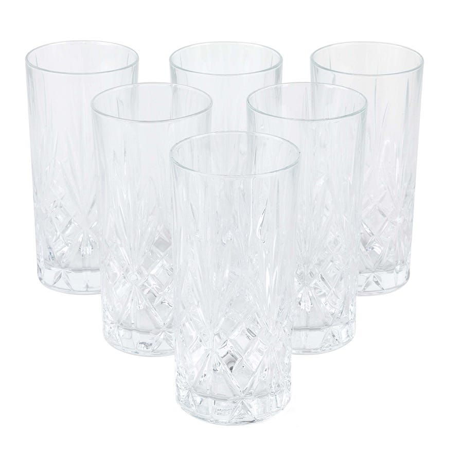 Compare cheap offers & prices of RCR Melodia Highball Glasses - Set of 6 manufactured by RCR