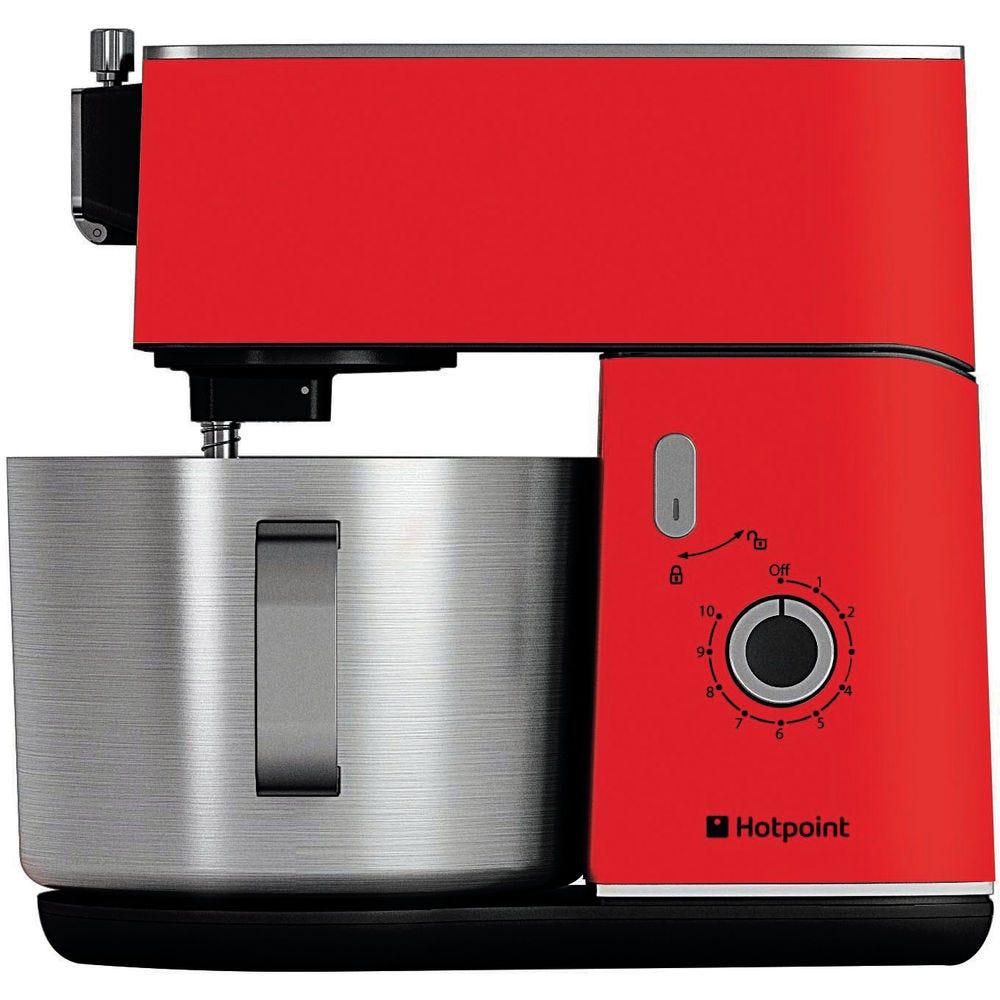 Hotpoint Kitchen Machine Stand Mixer - Red