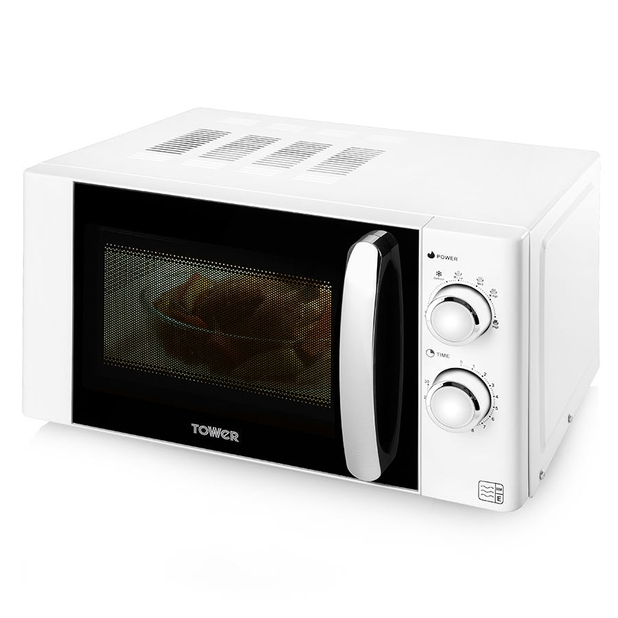 Tower 800W 20L Manual Microwave
