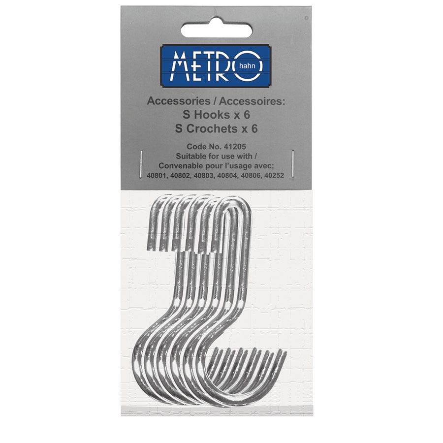 Compare prices for Six Hanging Hooks for Hahn Metro Utensil Wall Rail