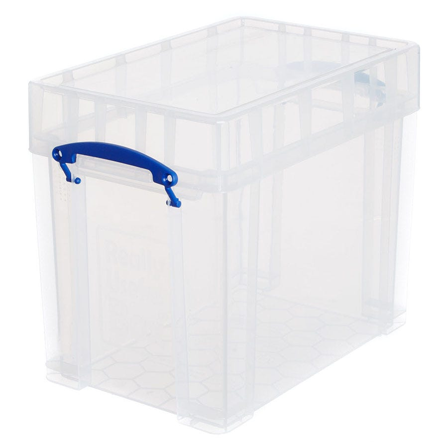 Image of Really Useful 19L XL Storage Box - Clear