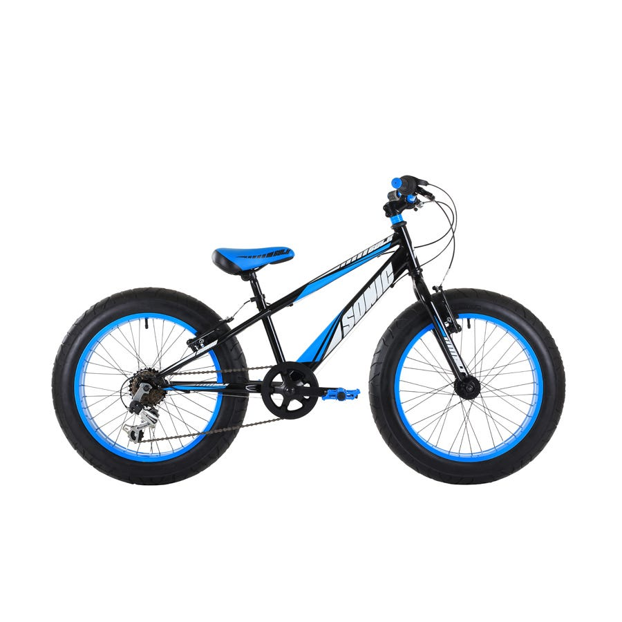 Compare prices for Sonic Bulk 20 Inch Wheel Boys Fat Bike 6-Speed and Blue