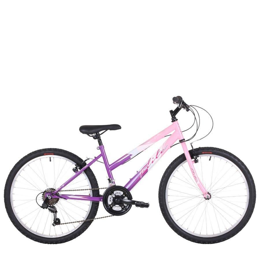 Compare prices for Flite Delta Girls 24-Inch Wheel Mountain Bike
