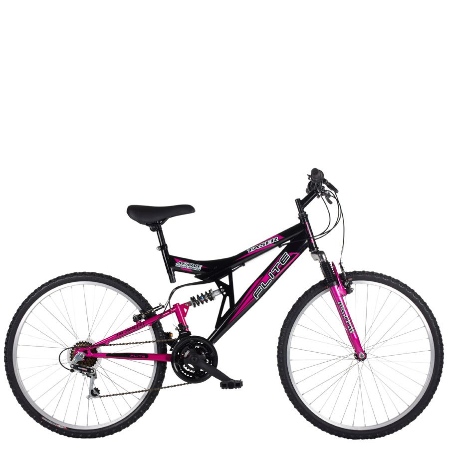 Compare prices for Flite Taser 18-Inch Frame Full Suspension Womens Mountain Bike And Black