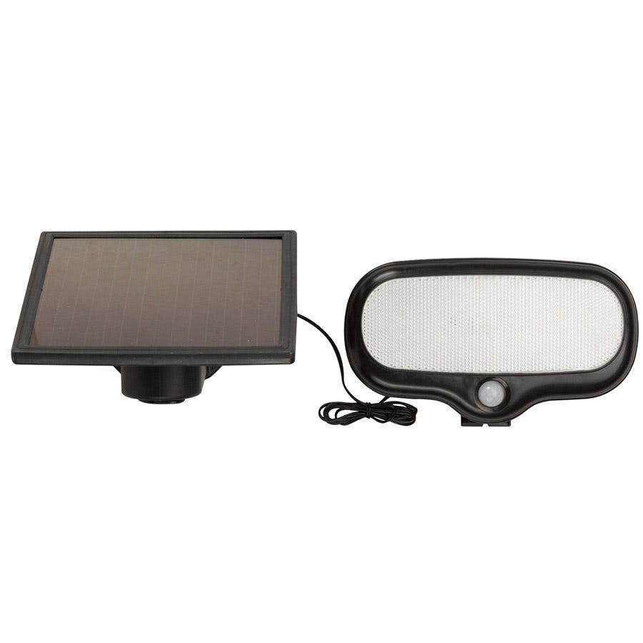Smart Solar PIR Floodlight - Black