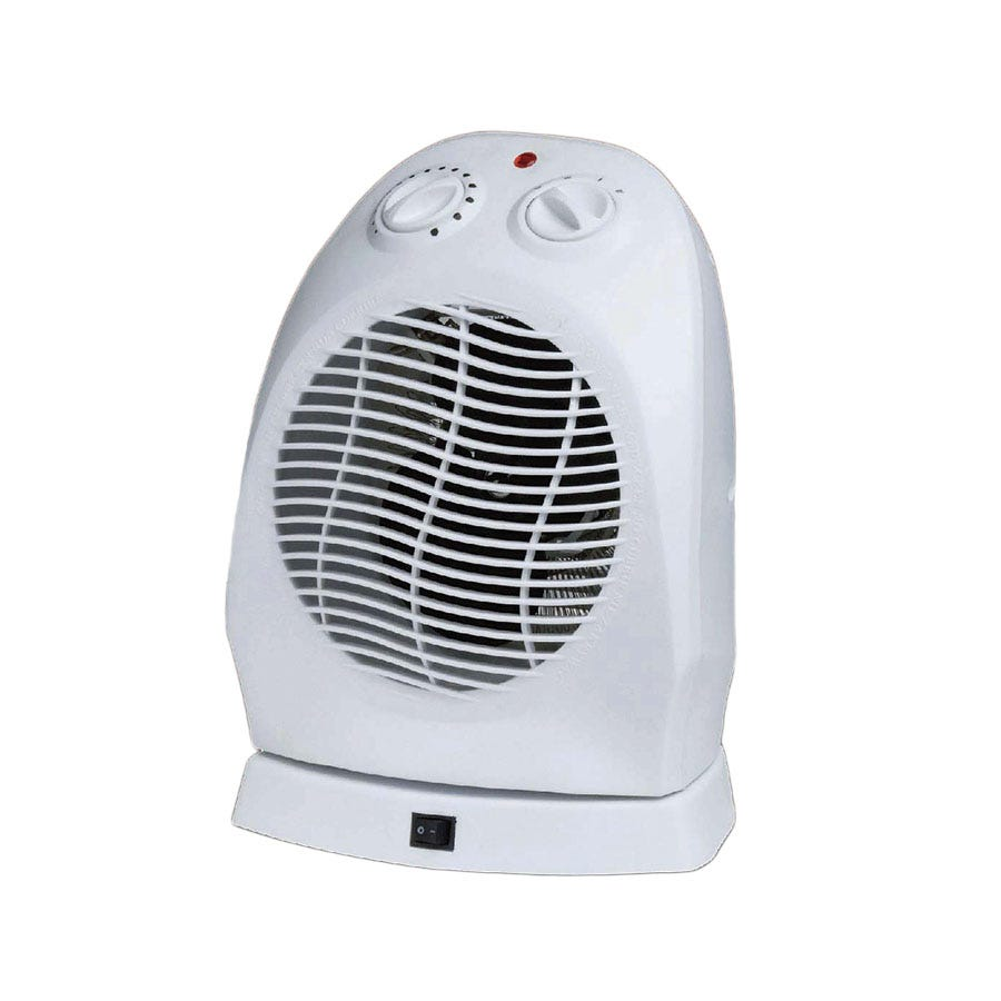 Image of Connect-It 2000W Oscillating Flat Fan Heater