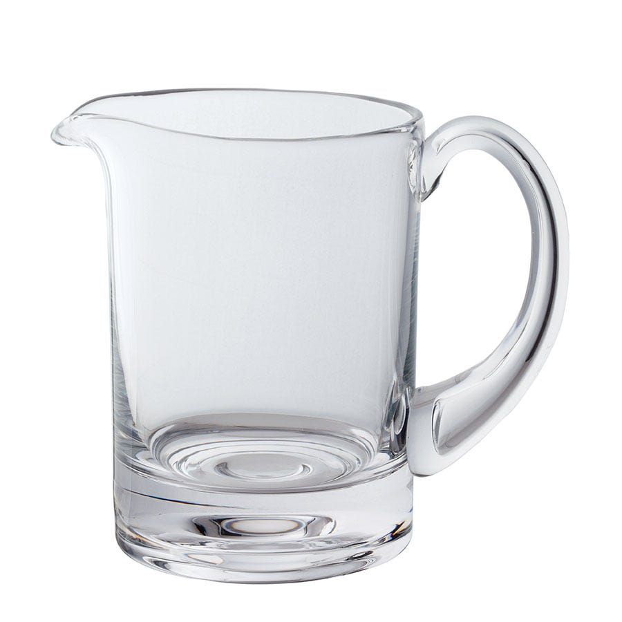 Compare cheap offers & prices of Dartington Circle Glass Jug manufactured by Dartington