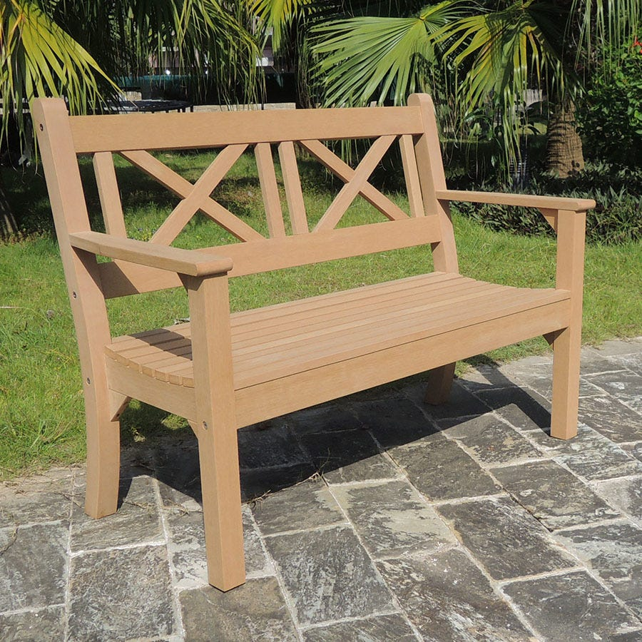 Compare prices for Maywick Winawood 2 Seater Bench - Teak