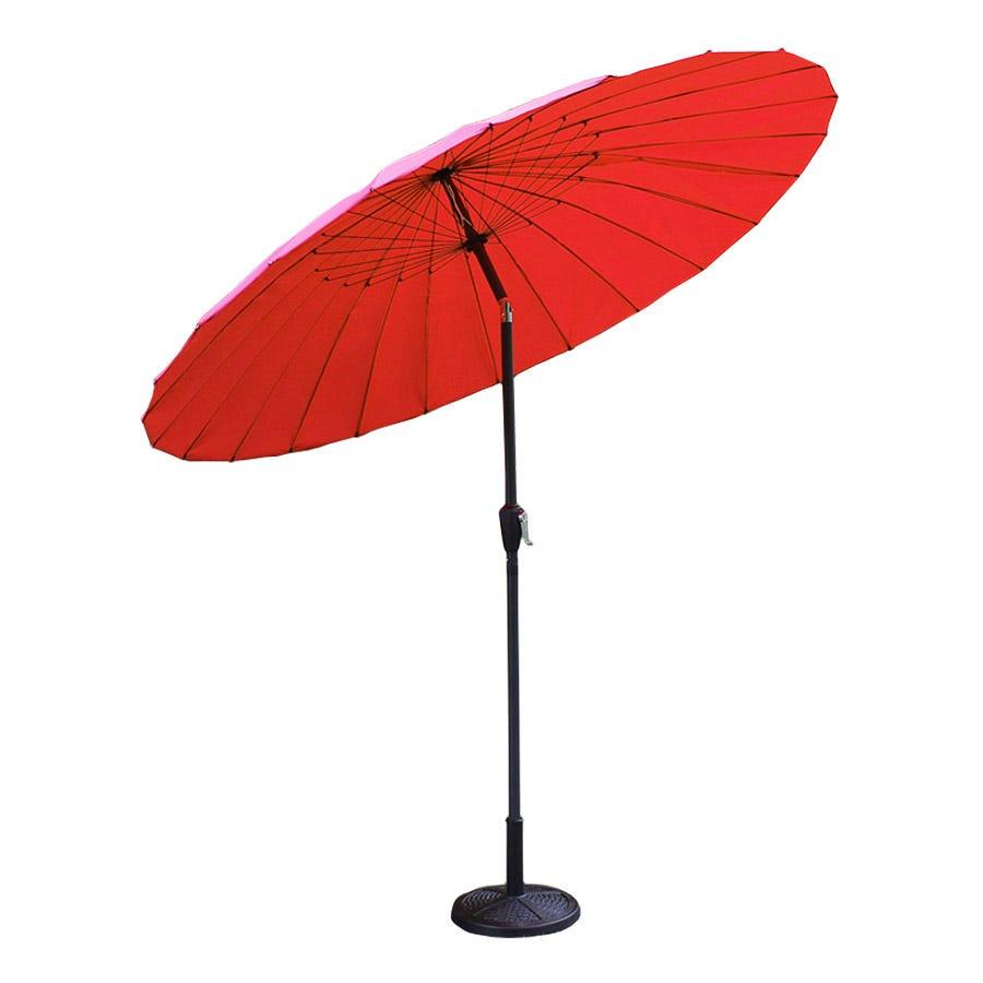 2.5m Aluminium Shanghai Parasol – Red