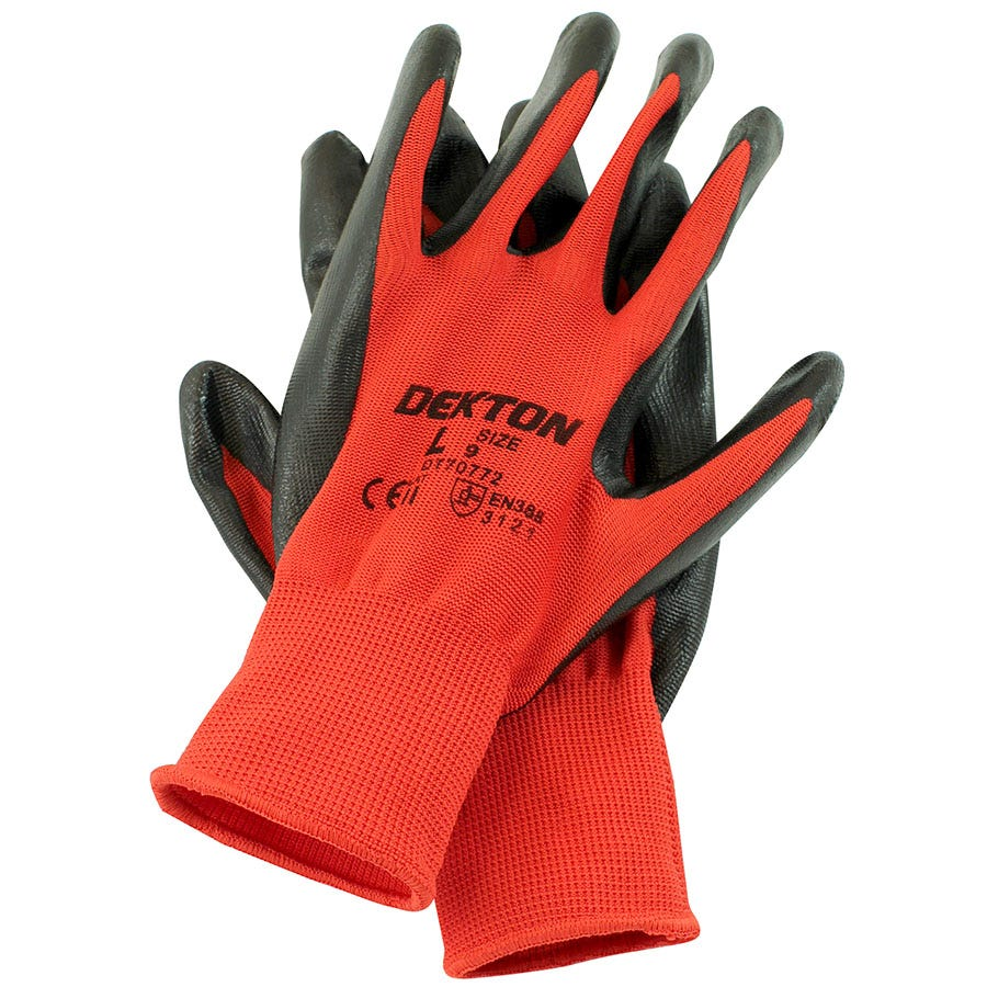 Compare prices for Dekton Ultra-Grip Nitrile-Coated Gloves